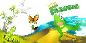 Little Froggie Learns to Walk.