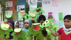 aktiviti tadika little froggie