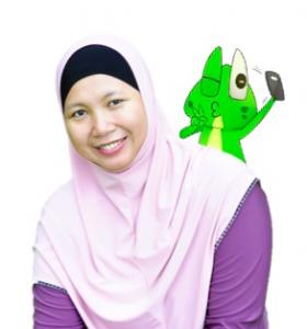 min selfie froggie 5