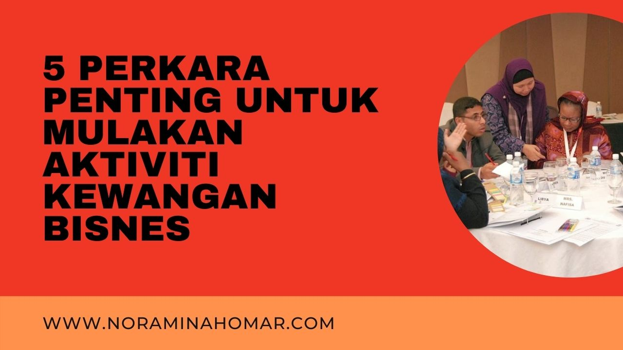Noraminah Omar bisnes usahawan